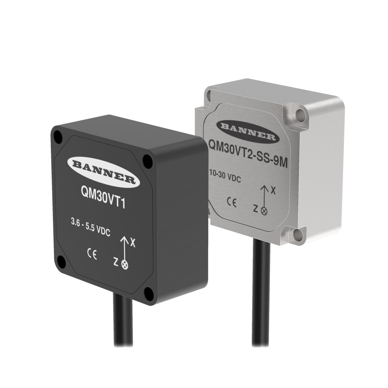 QM30VT VibTempSensor